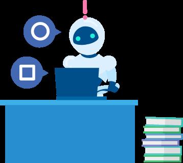 AIがお客さまごとのフォーマットや固有名詞、間違える傾向すらも学習します。